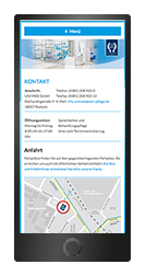 Smartphone website gestaltung