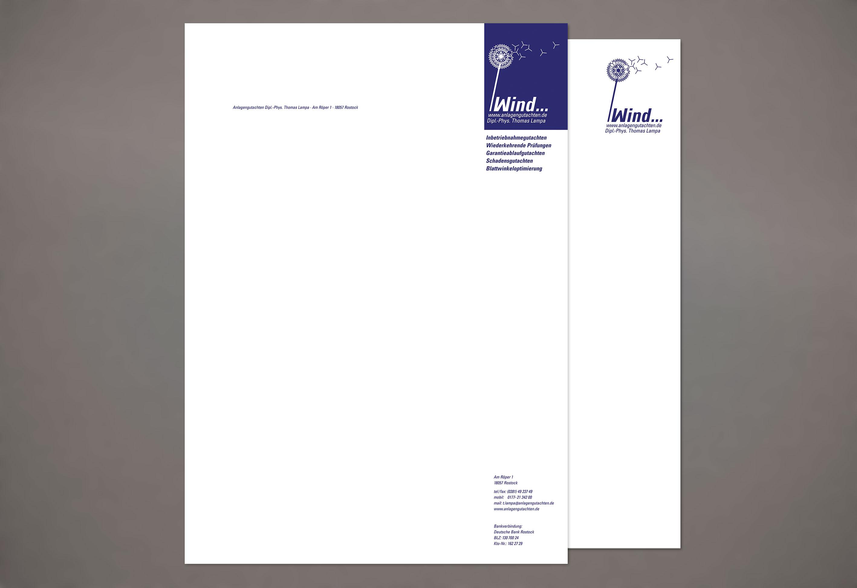 Brief Und Folgebogen Puls Grafikdesign Grafikdesign Robert Puls