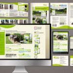 Corporate Design Grafiker Entwurf