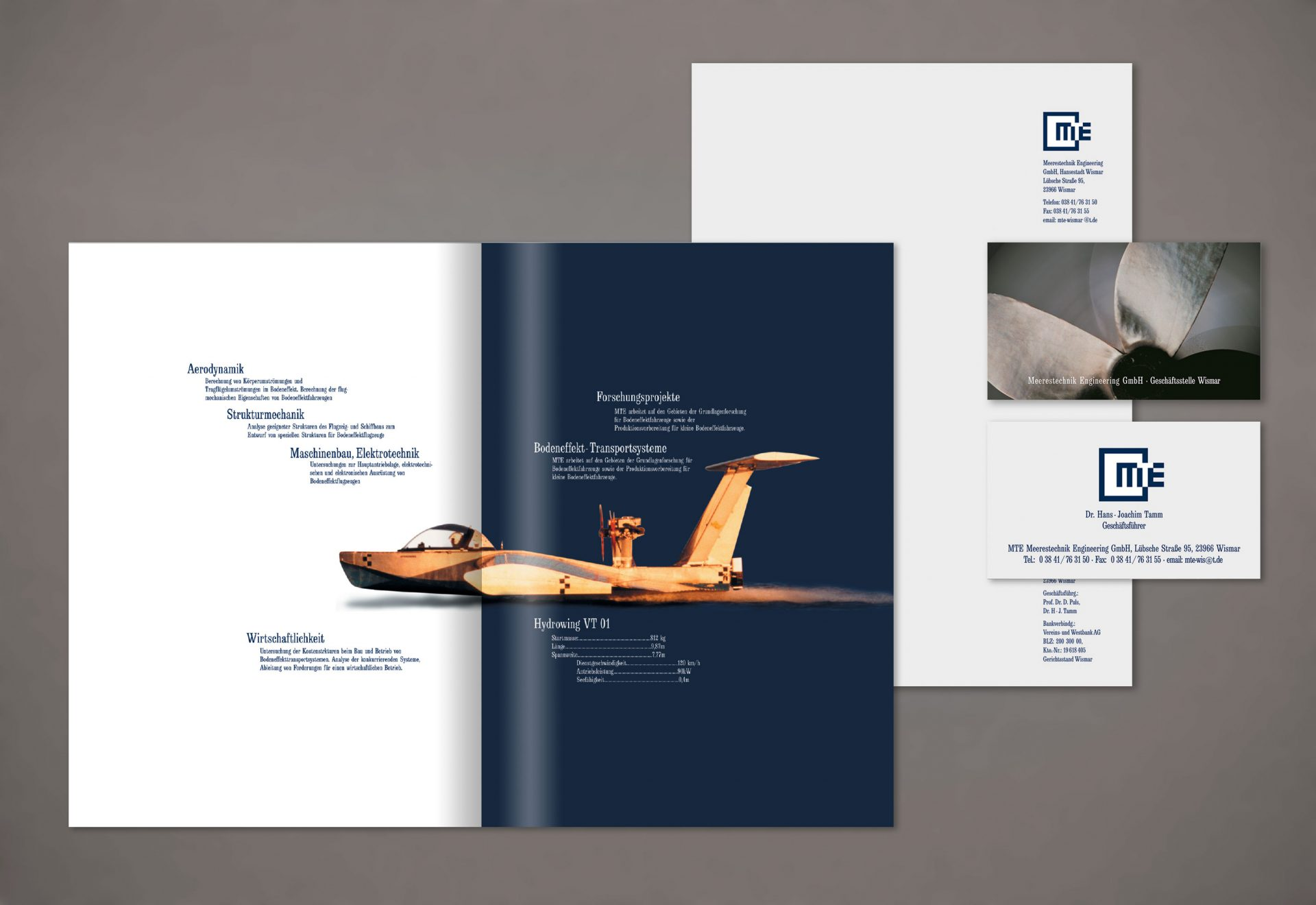 Corporate design ingenieurfirma puls grafikdesign for Design firma