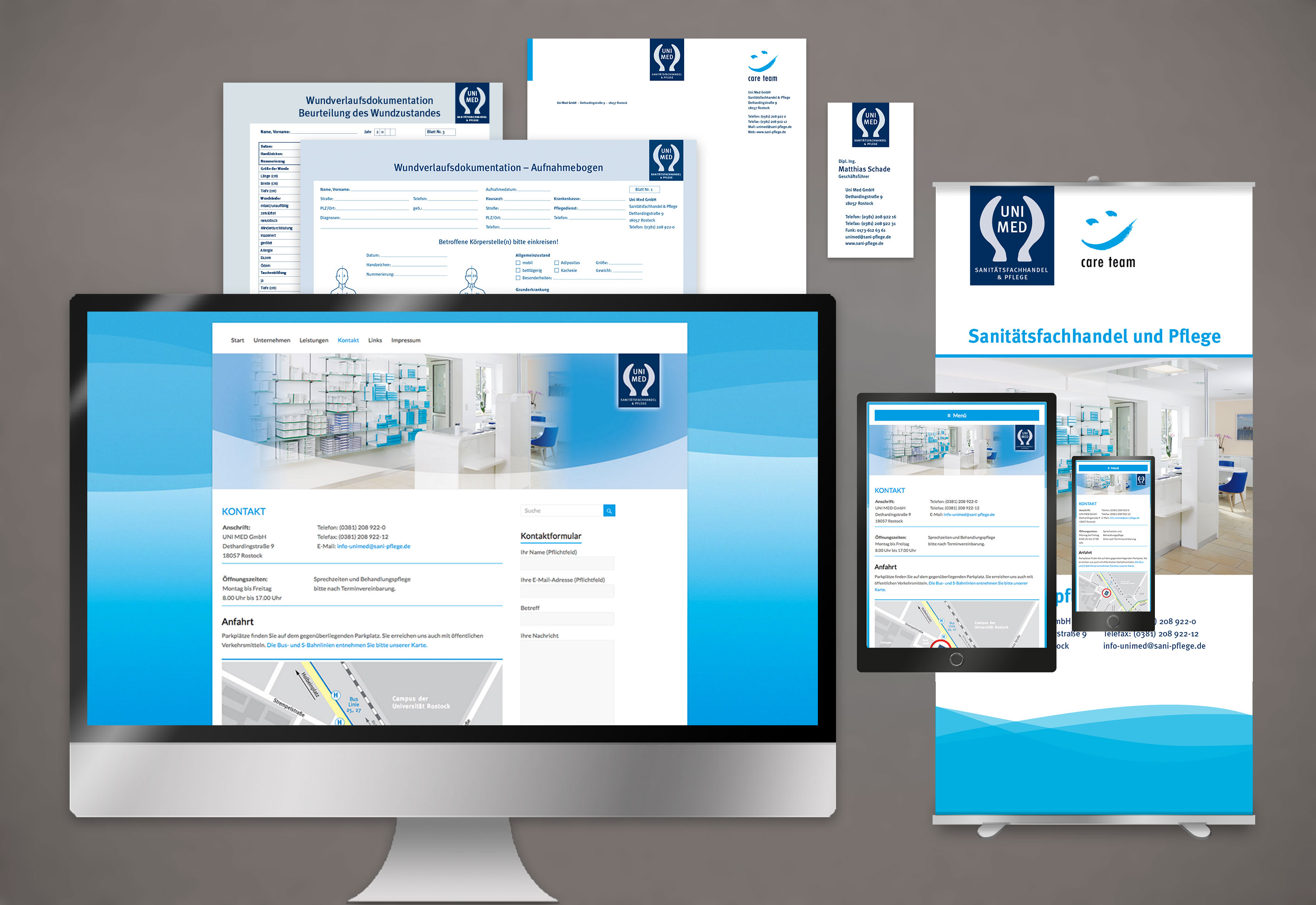 Corporate Design Agentur umsetzen