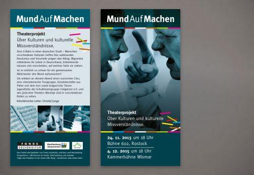 Gestaltung Flyer DIN-lang