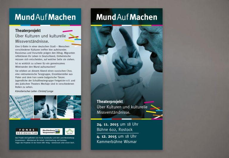 Flyer / Faltblätter