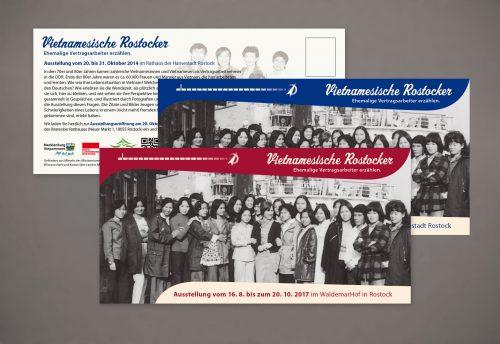 Postkarten Serien gestalten Grafiker