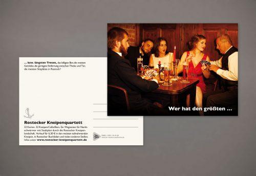 Postkarte Gestaltung Grafiker