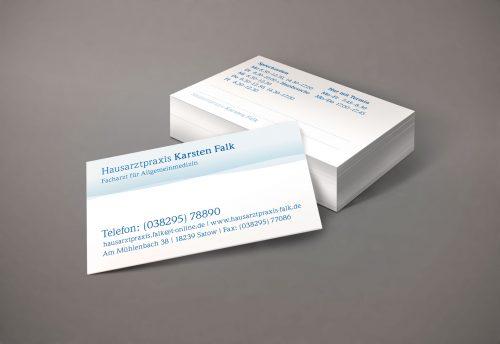 Visitenkarten Arzt gestalten