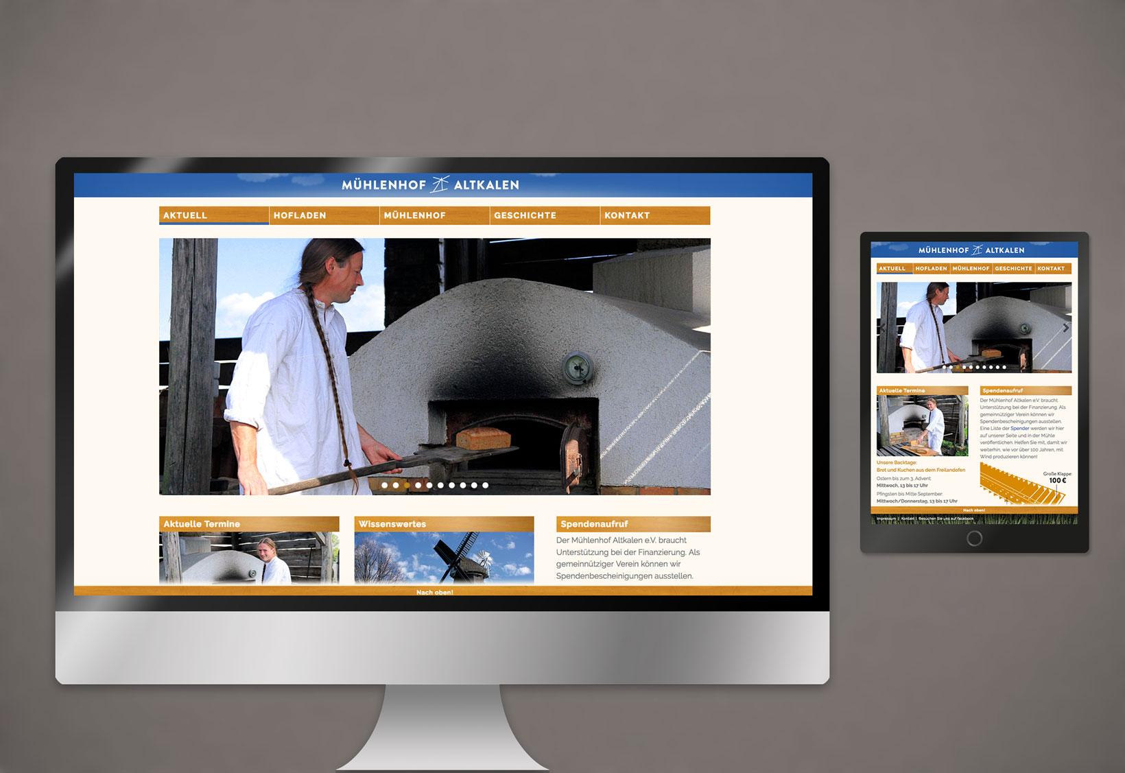 Webdesign Vereine Firma Responsive CMS