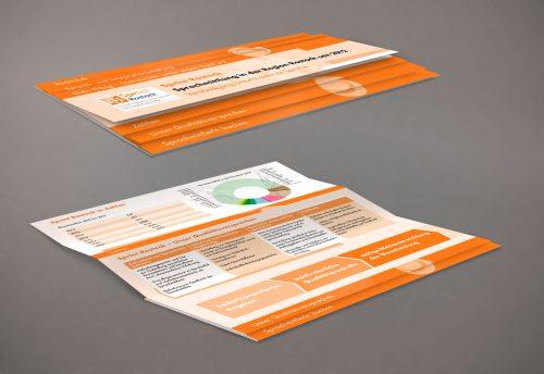 Pyramidenflyer Gestaltung Sprachmittlung Dien Hong