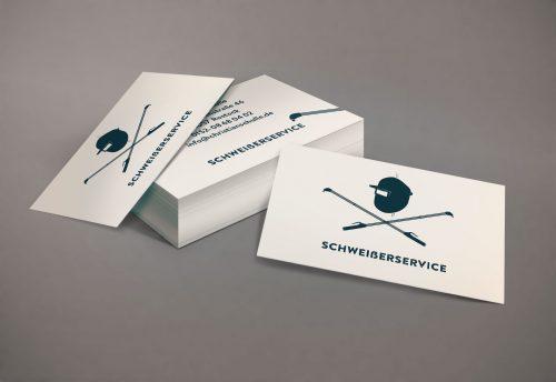 Visitenkarten handwerker Schweisserservice